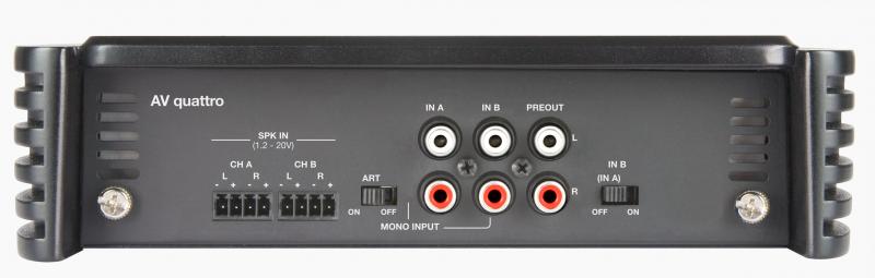 AV quattro | Audison - car audio processors, amplifiers and