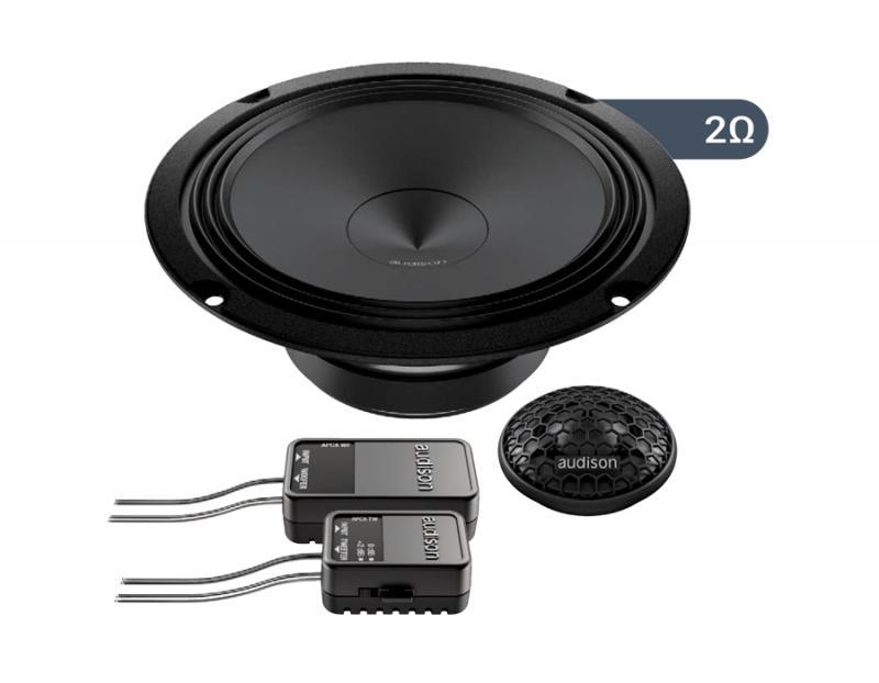 APK 165 Ω2 | Audison - car audio processors, amplifiers and speakers