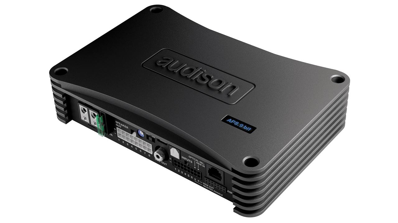 AP8 9 bit | Audison - car audio processors, amplifiers and speakers