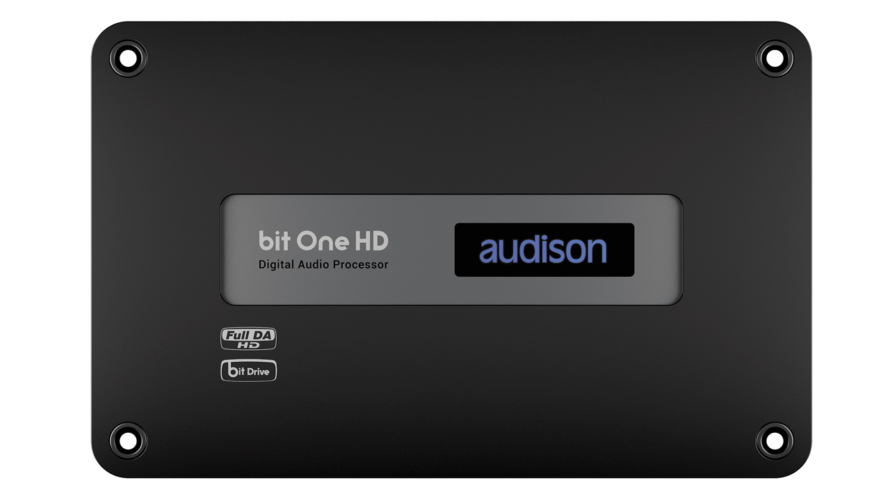 bit One HD | Audison - car audio processors, amplifiers and