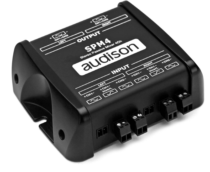 bit One | Audison - car audio processors, amplifiers and speakers
