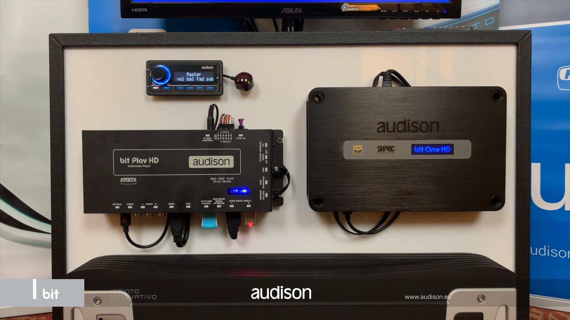 Audison Car Audio Amplifiers Speakers Processors Families Tutorial Electrical Outlets Wiring Connections Youtube Bit One Hd Preview