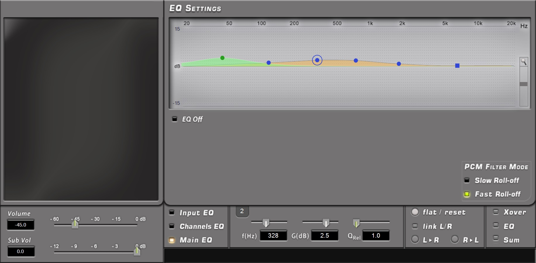 bit One HD Virtuoso Main EQ